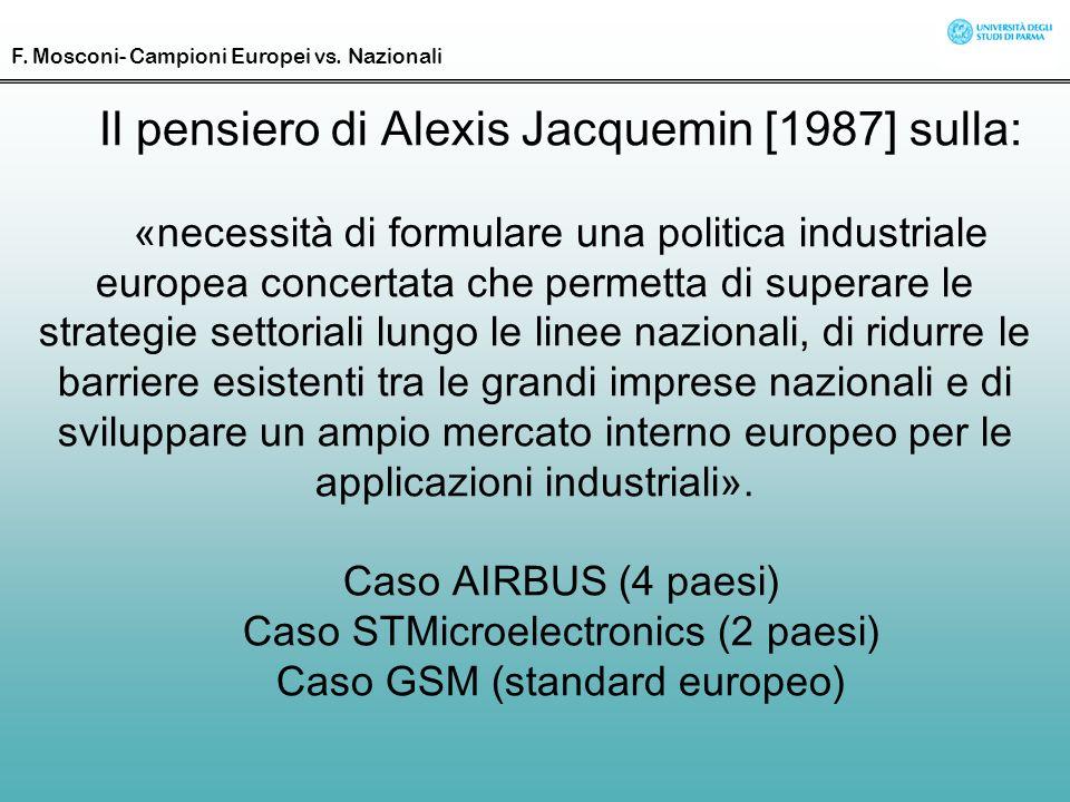 Il pensiero di Alexis Jacquemin [1987] sulla:
